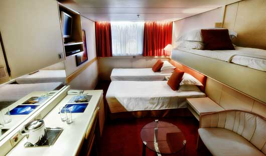 Cabin Triple Cabin - Ocean Diamond