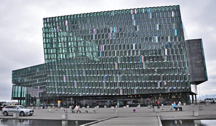 Iceland Harpa Concert Hall