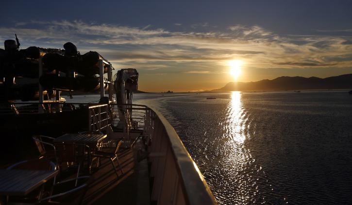 Ocean Diamond Sunset