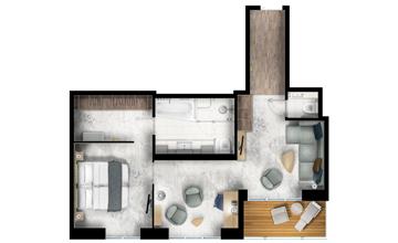 Owner's suite ultramarine