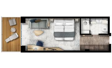 balcony suite floor plan ultramarine