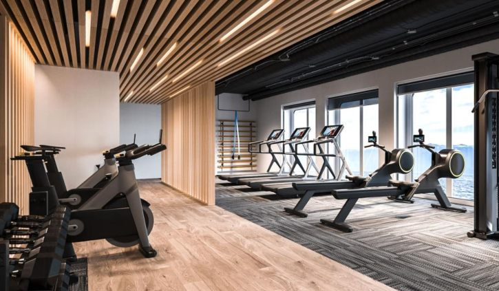 Quark Expeditions - Ultramarine - Fitness Centre