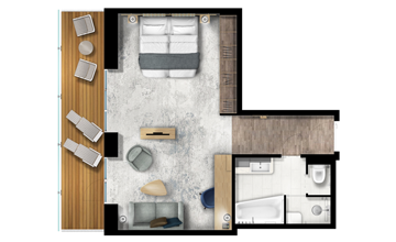 terrace suite ultramarine