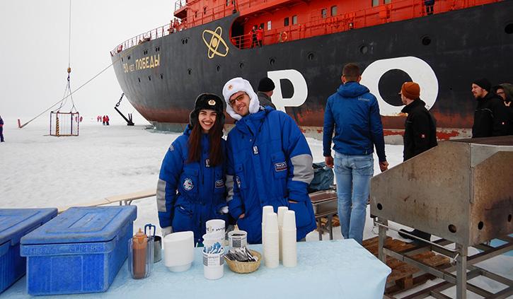 BBQ at North Pole, Poseidon