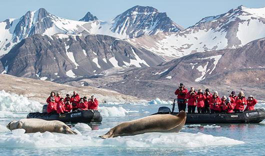 Poseidon - Zodiacs - Spitsbergen