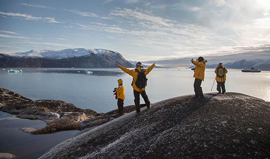 Quark, Hiking West Greenland